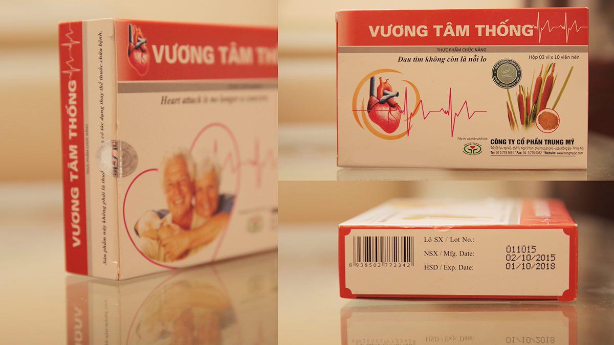 Vương Tâm Thống – Giải pháp thảo dược cho người bệnh mạch vành, hẹp hở van tim